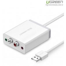 Bộ chuyển đổi USB External Sound xe hơi d model 30521 1M 1M Ugreen 30521