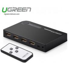 Bộ chuyển 3x1 HDMI HDMI 3X1 Switch model 40234 đen Ugreen 40251