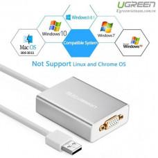 Bộ chuyển đổi new USB 2.0 ra VGA model 40244 80CM 80CM Ugreen 40244