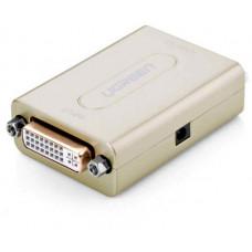 Bộ nối dài mở rộng DVI model 40266 bạc Ugreen 40266