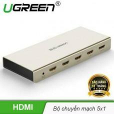 HDMI 5*1 Switch Zinc Alloy Case model 40279 Zinc Alloy Ugreen 40279