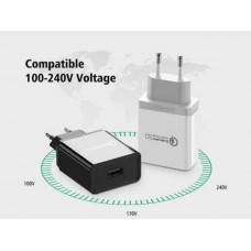 Bộ sạc 3.0/ FCP sạc nhanh USB model CD161 đen Ugreen 40714