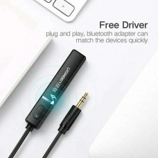 Bộ chuyển đổi 3.5mm out) bluetooth 4.2 Receiver Audio model CM107 đen Ugreen 40761