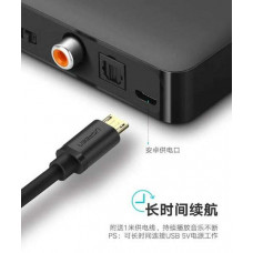 Bộ chuyển đổi bluetooth 4.2 Receiver Audio model CM112 đen Ugreen 40856