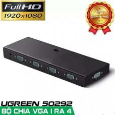 Box 1 In 4 Out bộ chuyển VGA model CM152 đen Ugreen 50292