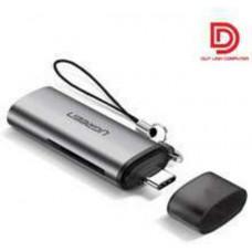 Đồ đọc thẻ USB-C TF/SD model CM184 Ugreen 50704