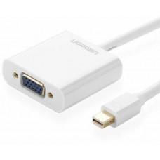 Bộ chuyển đổi Mini Display Port ra VGA model MD113 trắng ABS Ugreen 10458