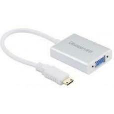Bộ chuyển đổi 1920*1080P Micro HDMI ra VGA model MM111 trắng trắng Ugreen 40269