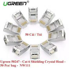 Đầu chống nhiễu Cat 6 model NW111 100pcs/bag Ugreen 50248