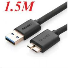 Cáp dẹp Micro USB3.0 đực ra USB 3.0 NEW model US130 1M Ugreen 10809