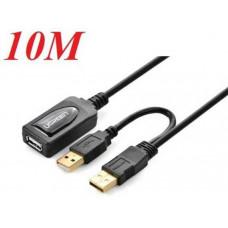 Nối dài USB 2.0 Active model US137 đen 5M Ugreen 20213