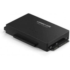 Bộ chuyển đổi USB 2.0 ra SATA+3.5 IDE + 2.5IDE model US160 đen Ugreen 30352