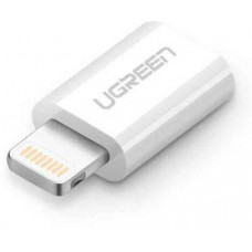 Bộ chuyển đổi chứng nhận MFI lightning ra micro USB model US164 trắng Ugreen 20745