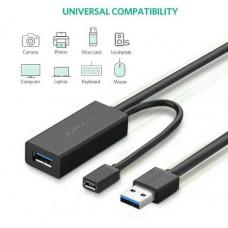 Cáp nối dài USB 3.0 model US175 đen 10M Ugreen 20827