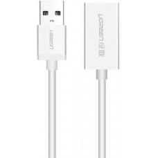 Cáp bện nối dài USB 2.0 đực ra cái model US198 1M Ugreen 40330