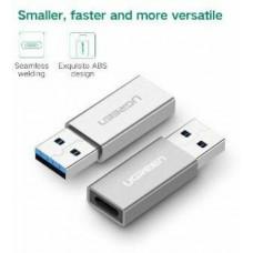 Bộ chuyển đổi bộ chuyển đổi USB 3.0 Type A đực ra USB 3.1 Type C cái model US204 bạc 0 Ugreen 30706