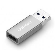 Bộ chuyển đổi ABS USB 3.0 A đực ra Type C cái model US204 Ugreen 40932