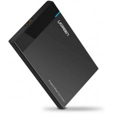 USB 3.0 3.5 Inch Hard disk Box model US222 đen Ugreen 50422