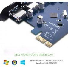 Bộ chuyển đổi xe hơi d PCI E to USB3.0+ LAN Gigabit model US230 80CM 80CM Ugreen 30775