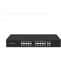 Bộ chia mạng 16 ports PoE Switches ,16*10/100M POE port, with 2 Uplink Gigabit Ethernet port + 1 Uplink Gigabit SFP port Uniview UNV ICAN16-300-21GS