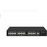Bộ chia mạng 24 ports PoE Switches ,24*10/100M POE port, with 2 Uplink Gigabit Ethernet port + 1 Uplink Gigabit SFP port Uniview UNV ICAN24-300-21GS