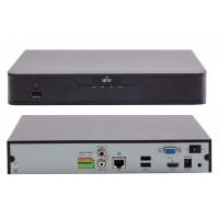 Đầu ghi hình IP camera 4/8/16 kênh: Chuẩn nén video Ultra265.   hiệu Uniview UNV NVR301-16E