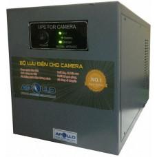 Bộ lưu điện Apollo 1000VA lưu 7h chuyên dùng cho Camera 600VA - 360W AP2024C