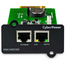 SNMP card to suit All On-Line Series UPS and EnviroSensor CYBERPOWER RMCARD303