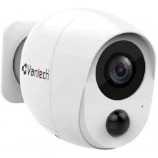 Đầu ghi Camera Vantech 1080P CLOUD BATTERY Wifi BULLET Camera with PI VP-B7300PIR