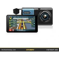 Bộ VIETMAP A50 dẫn đường kết hợp ghi hành trình trước và sau