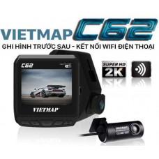 Bộ VietMap C62 (Camera hành trình ghi hình trước sau kết nối Wifi)