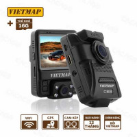 Giảm tiền còn 3.164.000 khi mua Bộ VietMap C63 (Camera hành trình ghi hình trước và trong xe)