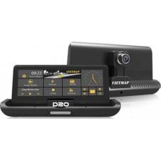 Bộ VIETMAP D20 (Trợ lý lái xe đa nĕng phiên bản màn hình tự động gập)