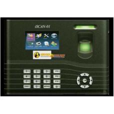Máy chấm công vân tay và thẻ Abrivision iSCAN-01