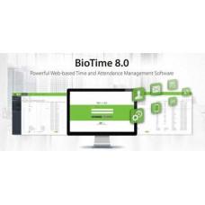 Biotime 8.0 - Kết nối tối đa 200 máy chấm công